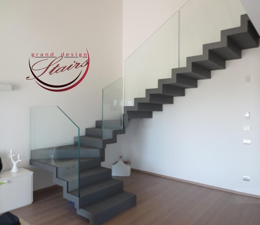 Zigzag Grey Steel Staircase New York Stairs West Village